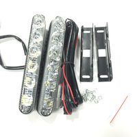 2 X Super Bright 15W White 6 LED Head Front Fog Light For All Car