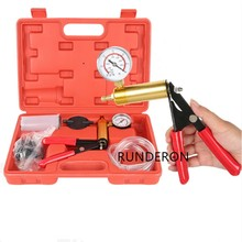 Universal Car Brake Fluid Bleeder Repair Vacuum Pump Tester Tool Kit Oil Change Hand Held Pistol