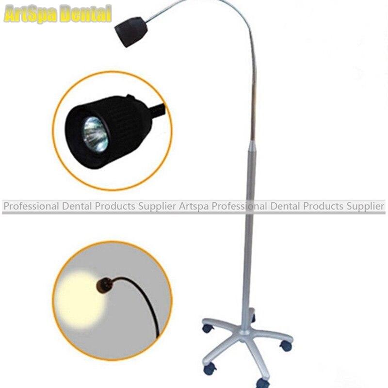 35W Dental Medical Floorstanding Exam Lamp Halogen Shadowless Examination Light Dental LED Lamp JD1500 medical infrared breast detector infrared mammary exam device medical infrared breast examination lamp