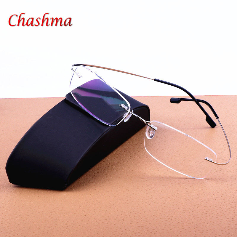 2017 məşhur dizayner titan çevik gözlüklər Presbyopik - Geyim aksesuarları - Fotoqrafiya 1