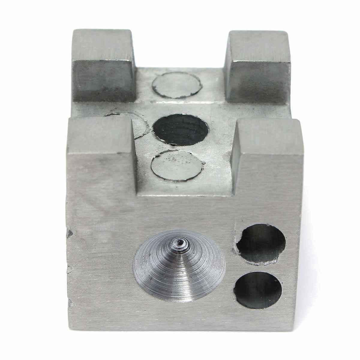 実用的な時計屋アルミ合金浮き沈みさせる釣り方ドーミングブロック時計宝石部品修理ホルダーツール