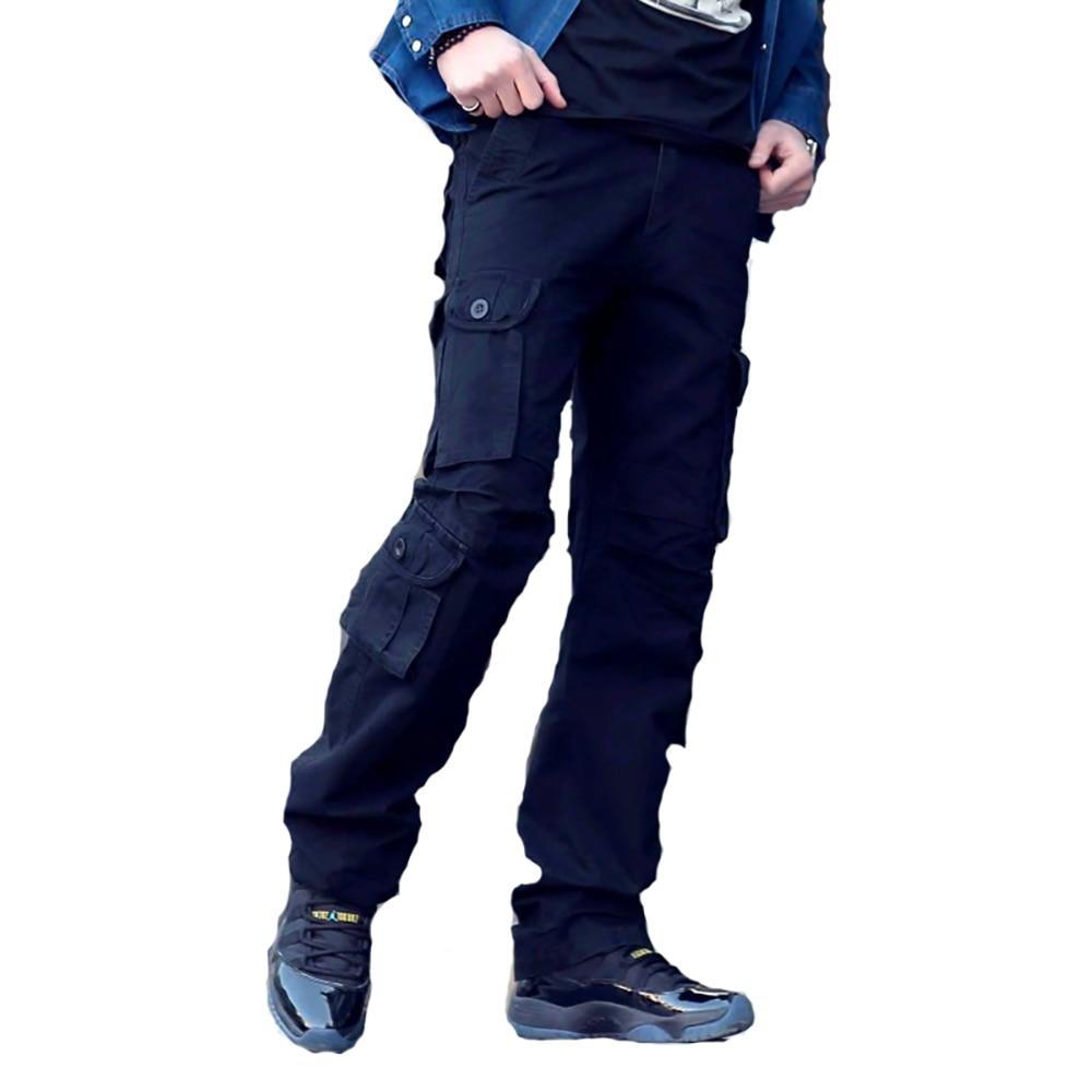 100% Wahr Plus Größe 29-40 Herren Camouflage Cargo Taktische Hosen Casual Taschen Hosen Military Stil Hosen Pantalones Overalls