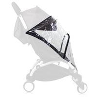 Generic Rain Cover, Weather Shield, Plastic Clear Netting for Babyzen YOYO Stroller