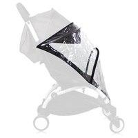Rain Cover Weather Shield Plastic Clear Netting for Babyzen YOYO Stroller