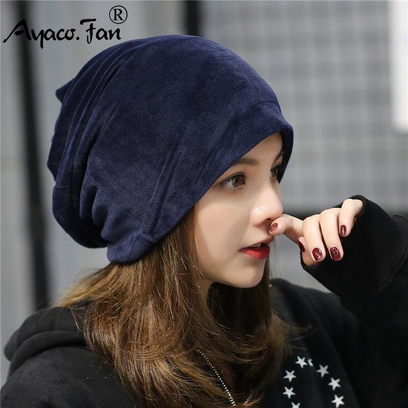 Flannel Winter Hats for Women Soft Russia Girls Casual Stocking Hats Headgear Cat Ears Hat Ear Flaps Cap