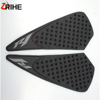 Motorcycle Protector Anti slip Tank Pad Sticker Gas Knee Grip Traction Side 3M Decal For Yamaha YZF R1 2004 2005 2006 YZF R1