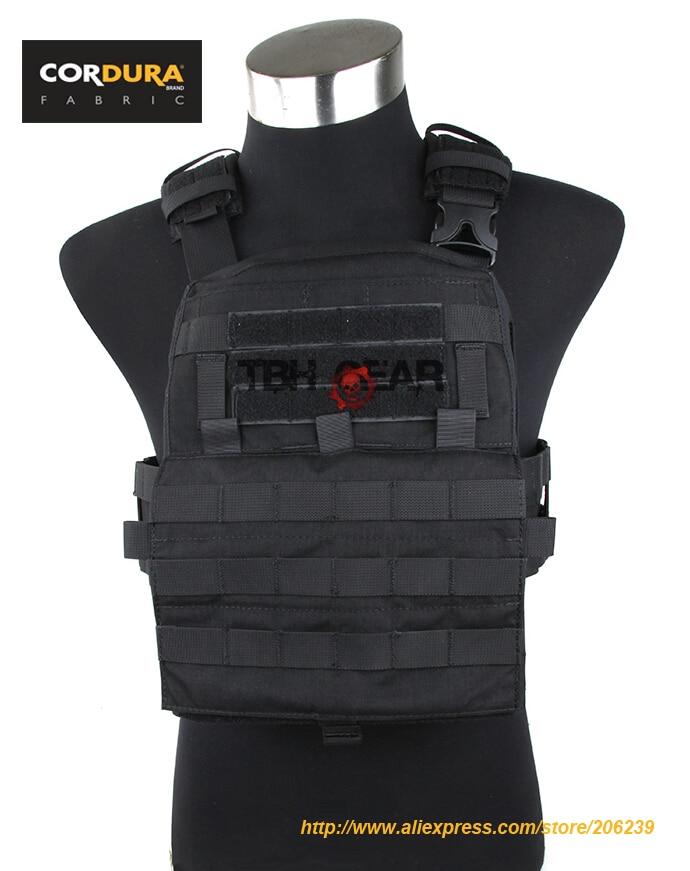 TMC Adaptive Vest 2018Ver. 500D Cordura MOLLE Vest Black Tactical Military AVS Vest(SKU050756)