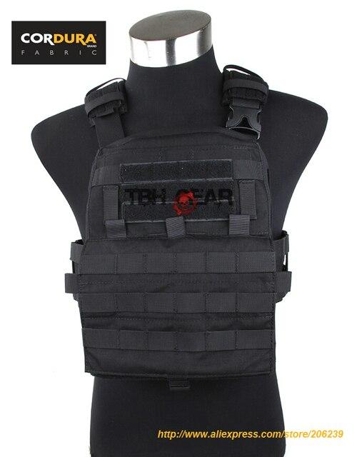 TMC Adaptive Vest 2018Ver. 500D Cordura MOLLE Vest Zwart Tactische Militaire AVS Vest (SKU050756)