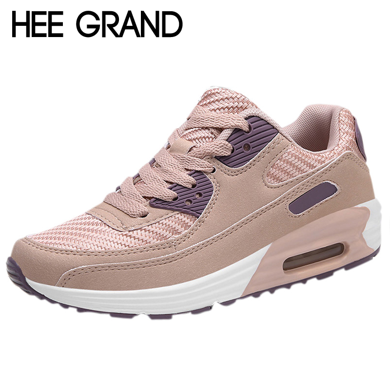 HEE GRAND Comfort Creepers Lace-Up Platform Loafers Casual Shoes Woman Patent PU Leather Slip On Flats Size 35-40 XWC1398 hee grand flowers creepers pearl glitter flats shoes woman pink loafers comfort slip on casual women shoes size 35 43 xwc1112