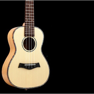 Solid Wood Guitar 4 Strings Ukelele String Tennor 23 Inch Mahogany Ukulele Bass Spruce Classical Guitar Hawaii Music Instrument 12mm waterproof soprano concert ukulele bag case backpack 23 24 26 inch ukelele beige mini guitar accessories gig pu leather
