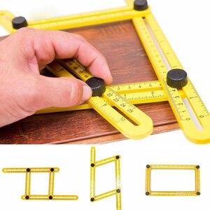 Multi Plastic Angle Ruler Fold