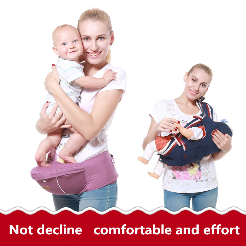 Ergonomic Baby Carrier Backpack Adjustable Baby Toddler Sling With Hipseat Infant Kangaroo Bag Prevent O-type Legs Carrier Wrap Activity & Gear