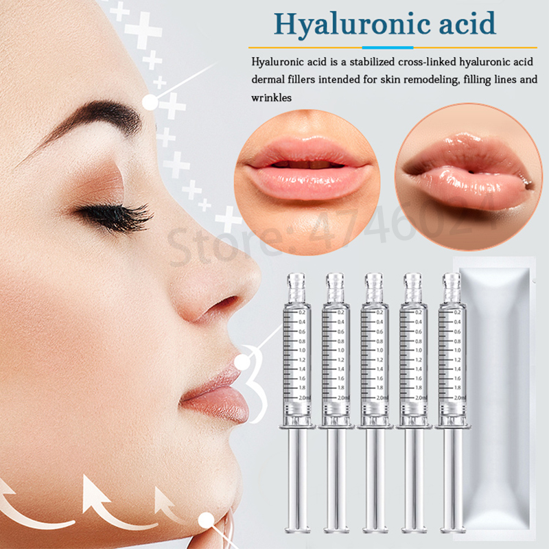 Cross-linking Hyaluronic Acid Filler Dermal For Lip Filling Anti Wrinkle Face Lifting For Hyaluronic Pen Atomizer Injection Guns