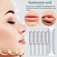 Relleno de ácido hialurónico de enlace cruzado dérmico para relleno de labios antiarrugas elevación de la cara para atomizador de pluma hialurónica pistolas de inyección