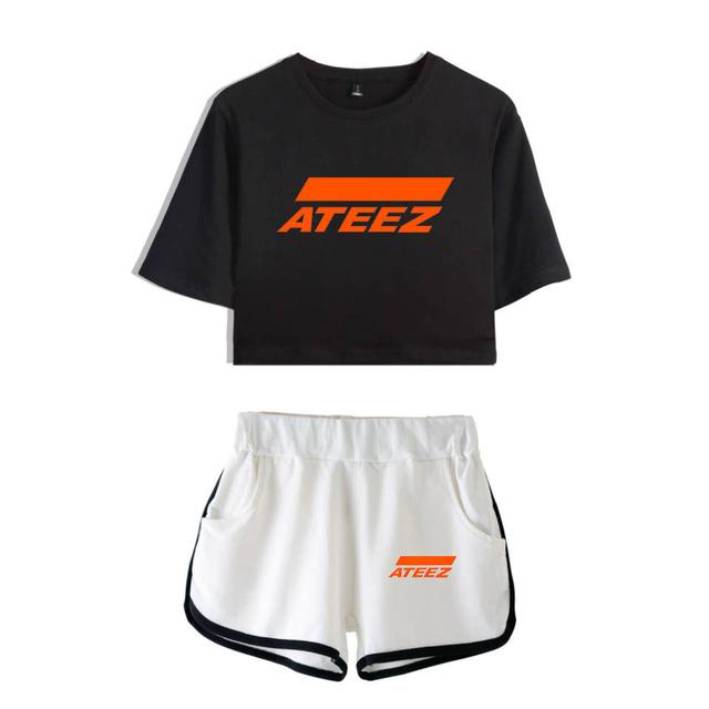 SET ATEEZ TOP + SKIRTS (28 VARIAN)