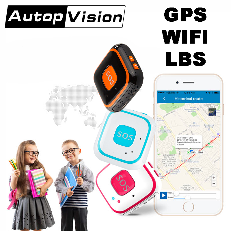 V28 Children GPS wifi LBS Tracking Mini Elderly GPS Tracker Real time tracker for personal use