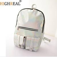 HIGHREAL New Women Fashion Designer Brand Backpacks College Wind Women Backpack School Bag For Teenagers Wholesale