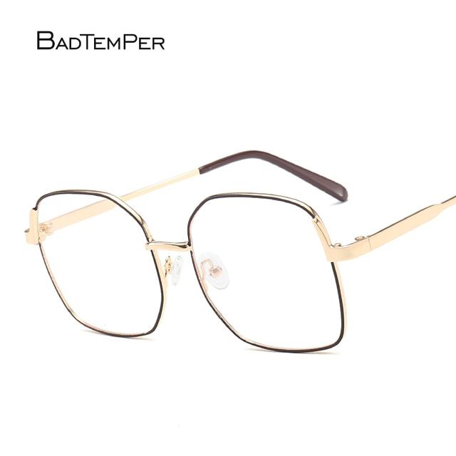 ae7a34f31af Badtemper Vintage Optical Glasses Frame Exclusive Brand Designer Women  Eyeglasses Titanium Frame Metal Decoration Oculos De
