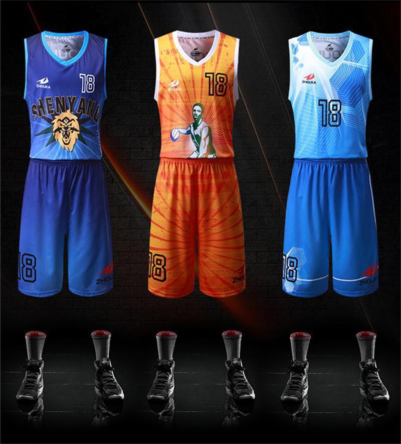 Kundenspezifischen Praxis Basketball Jerseys Billig Reversible