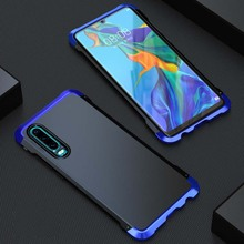 Original Luphie Case Cover Luxury Anti-knock Hard PC Aluminum Shockproof For Huawei P30 Pro Armor Metal KS0234