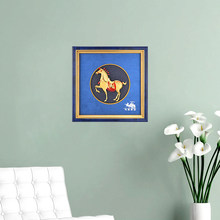 3D Framed Painting Gold Horse 24k Gold Foil Crafts Celebration opening Luxury Gifts Traditional Art Wall picture Home Decoration(China)