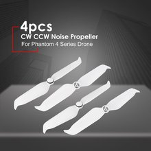цена на 4pcs 9455S Low Noise Propeller for DJI Phantom 4 CW CCW Quick Release Props Blade Spare Parts for DJI Phantom 4 Pro V2.0 Drone