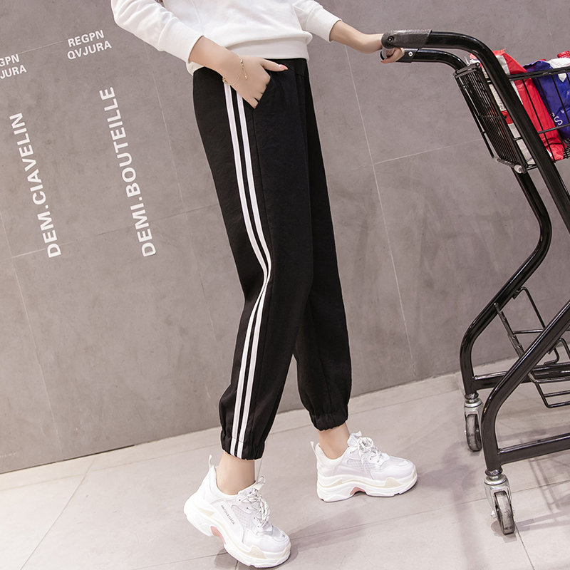 814f6797c7199 Cotton Maternity Pants Sweatpants Pregnancy Clothes For Pregnant Women  Loose Maternity Clothing Pregnancy Belly Trousers -in Pants & Capris from  Mother ...