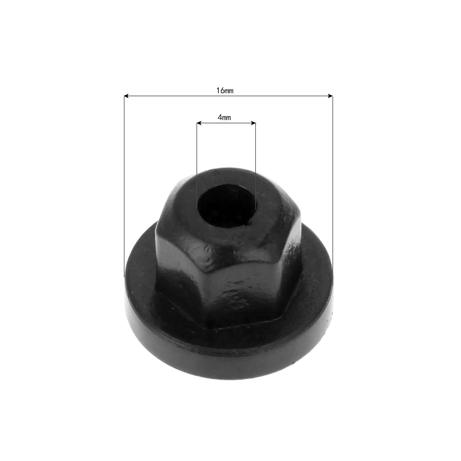 Image 2 - 20Pcs 16131176747 Auto Car Plastic Body Nut Flange Clip Fit For Mercedes Benz 0039900251 For BMW-in Auto Fastener & Clip from Automobiles & Motorcycles