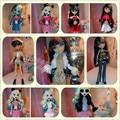 Бесплатная доставка разнообразие цвета стиля для монстр средней школы дух куклы платье костюмы аксессуары