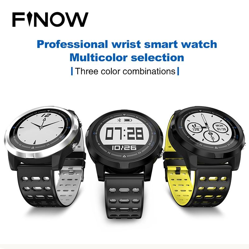 все цены на NEW FINOW N105 Smartwatch GPS Smart Watch Waterproof IP68 Heart Rate Monitor Men/Women Swimming Sport Fitness Tracker Wristwatch онлайн
