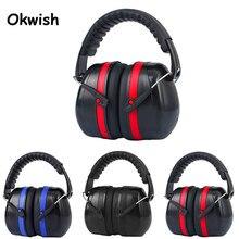 OKwish Electronic Ear Protection Shooting Hunting Ear Muff Print Tactical Headset Hearing Ear Protection Ear Muffs for Hunting