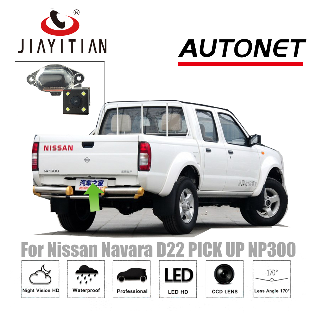 JIAYITIAN Rear View Camera For Nissan Navara pick up D22 NP300 /CCD/Night Vision/ Reverse Camera license plate camera BACKUP цена