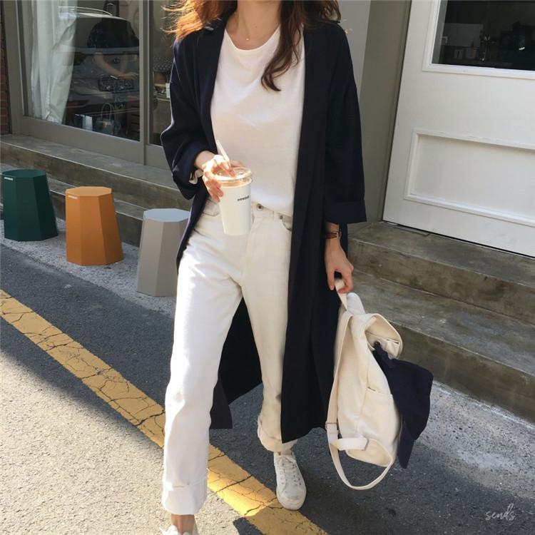19 spring Autumn fashion female batwing sleeve solid shirt dress women blouses casual loose long big size shirts blusas 9
