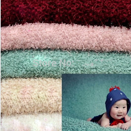 160*100cm Newborn Baby Photography Photo Props Backdrop Blanket  Newborn Basket Stuffer Newborn Photography Props