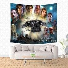 Tapestry Stargate-Pattern Blanket Decorative Throw Yoga-Mat Beach-Rug Picnic Fashion