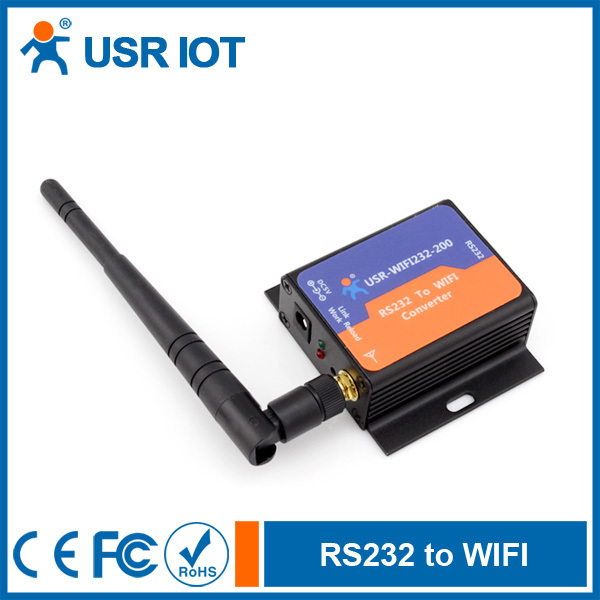 Low power RS232 serial to WIFI module converter
