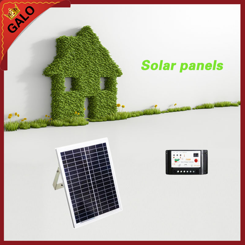 20 w 17V poly solar panel for DC24V gate system Solar energy conversion power to provide power 100w folding solar panel solar battery charger for car boat caravan golf cart