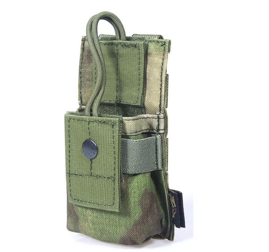 FLYYE MOLLE Short Radio Pounch Hunting Camping Hiking Climb Outdoor Tactical Military CO ...