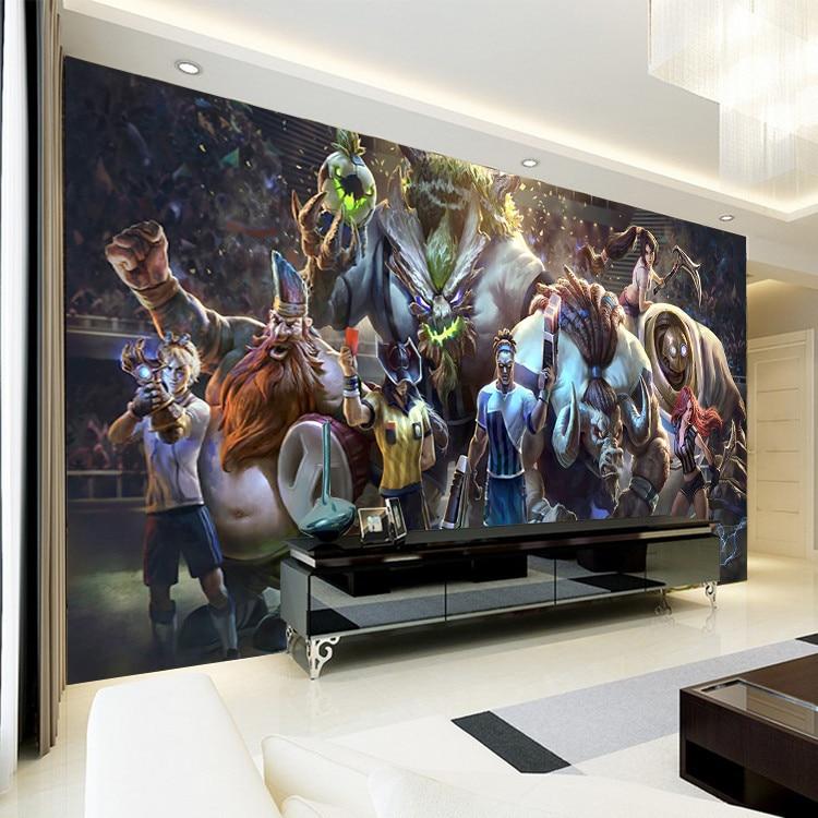 3D Game Wall Mural League of Legends Photo Wallpaper Custom ...