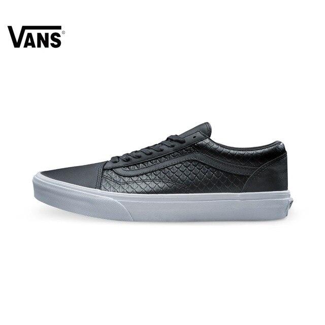 D'origine Vans Blanc et Noir Hommes de Planche À Roulettes Chaussures Vans  Sport Chaussures