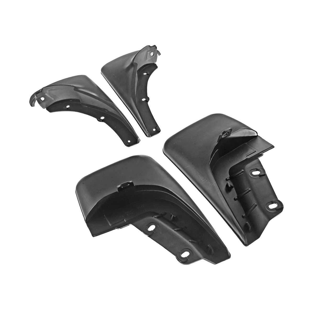 New Splash Guards Full Set Front Rear Fit For Toyota Corolla Mud Flaps 1988-1992