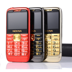 E71 Slim Bar Metal Senior Mobile Phone For Old People One Key Simply Working Torch Big Screen P148