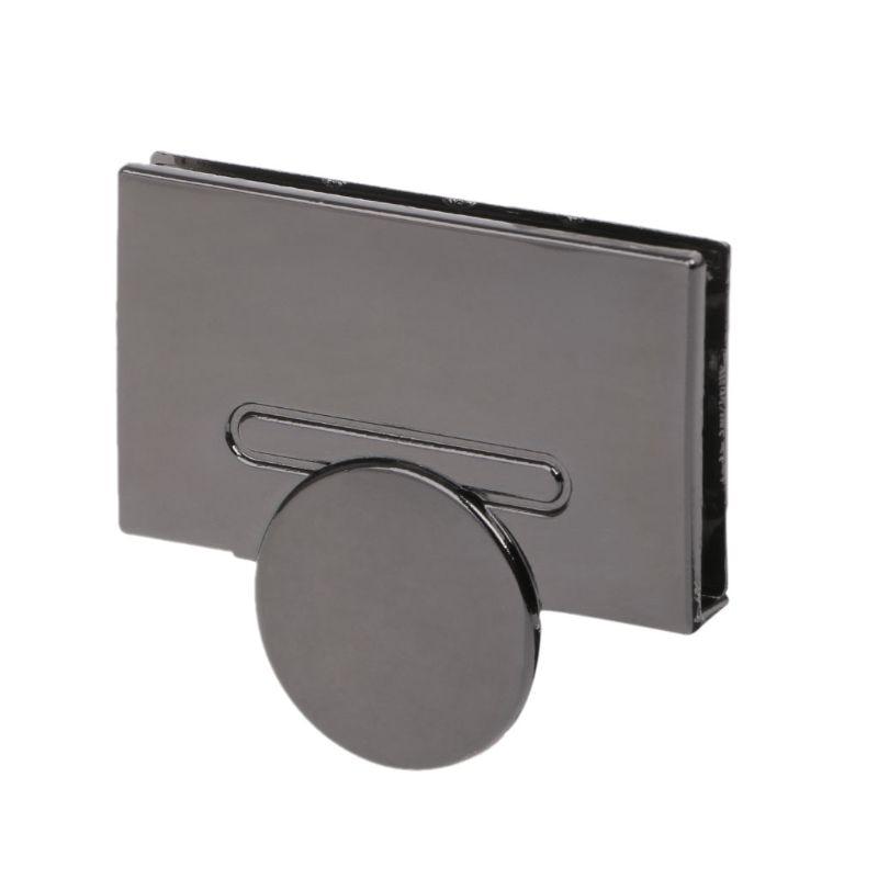 High Quality Magnetic Clasp Turn Lock Twist Locks Metal Hardware For DIY Handbag Bag Purse