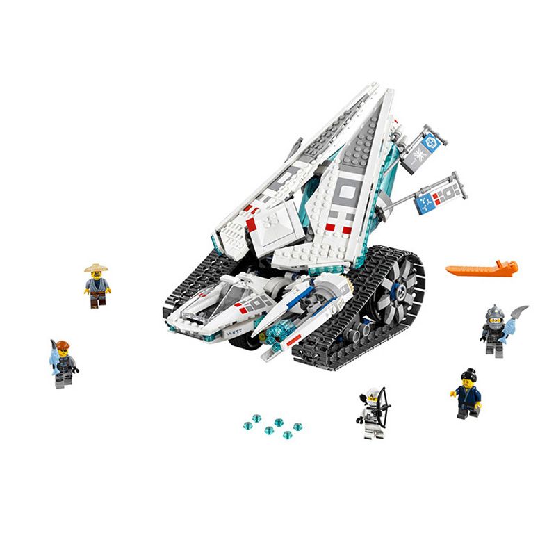 Lepin Pogo Bela 10726 947PCS+ Ninjagoe Ice Tank Building Blocks Bricks Compatible with Legoe Toys lepin 75821 pogo bela 10505 birds piggy cars escape models building blocks bricks compatible legoe toys