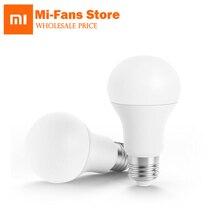 Xiao Mi mijia приложение белый Цвет 3000 К-5700 К 6.5 Вт 450lm 220-240 В 50/ 60 Гц LED E27 лампы Ми свет mijia App Wi-Fi Удаленная группа Управление