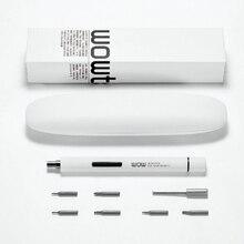 Wowstick mini sans fil électrique tournevis bits Poche Kit Précision avec 2 batteries pour Appareil Photo batterie mobile téléphone Réparation
