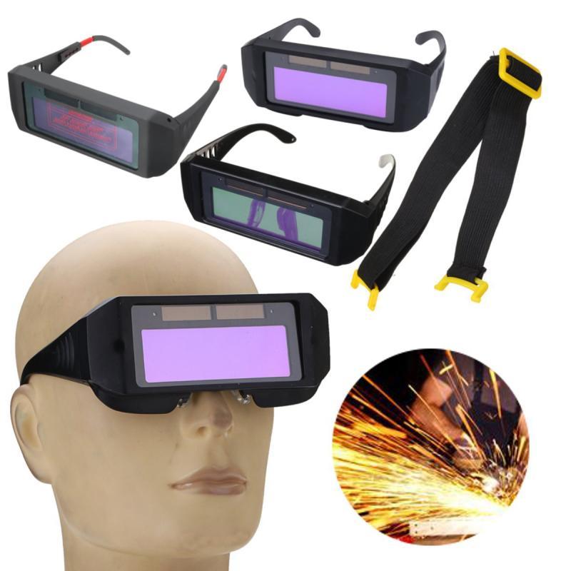 Óculos de Solda Óculos Olhos Protetor Solar Auto Escurecimento Capacete de  Soldagem Para O corte, Máscara de solda De Solda Ferramentas de Filtro de  Lente 70de6ec596