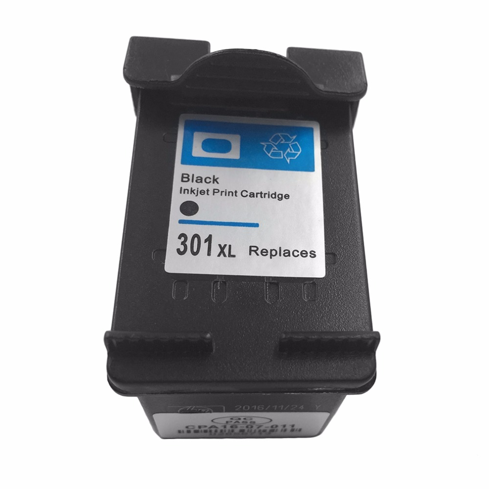 Non-OEM Ink Cartridge Replacement for <font><b>HP</b></font> <font><b>301</b></font> xl Deskjet 1050 2050 2050s 3050 for Envy 4500 4502 4504 5530 5532 5539 stam image