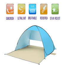Quick Automic Opening UV-protection Camping Tent Sun Shelter ice fishing tent Waterproof Polyester Fabric hot sale waterproof camping tent gazebo ice fishing tent awnings winter tent sun shelter beach tent one hall and one room