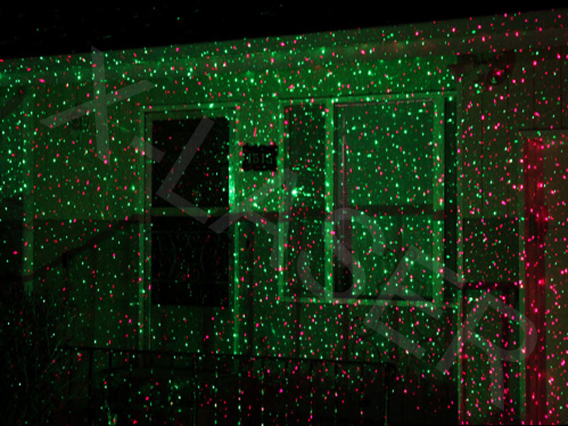 outdoor christmas laser lights